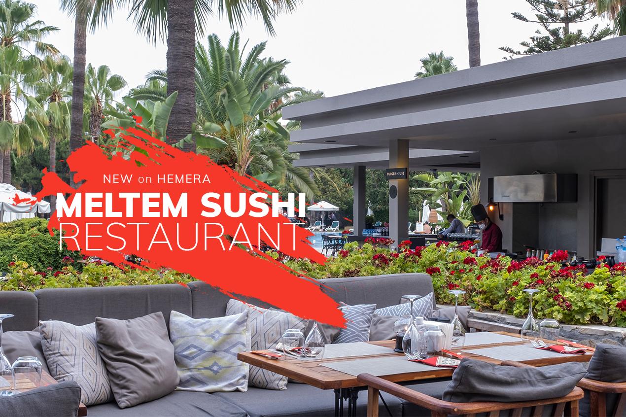 "Barut Hemera now offers ""Sushi Restaurant"" service!"